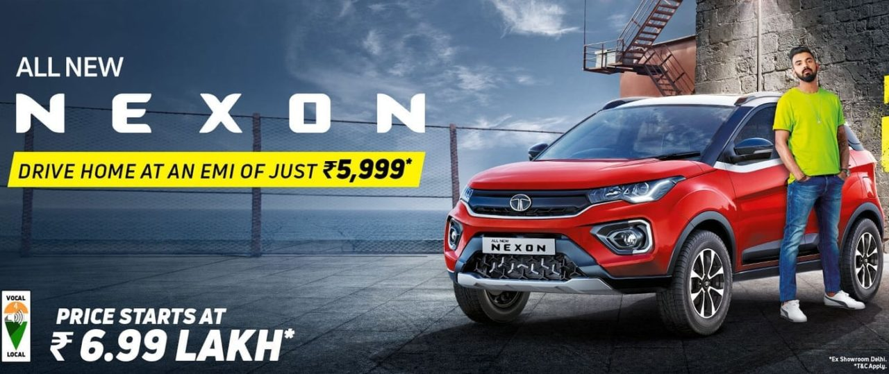 Tata Nexon new EMI offer