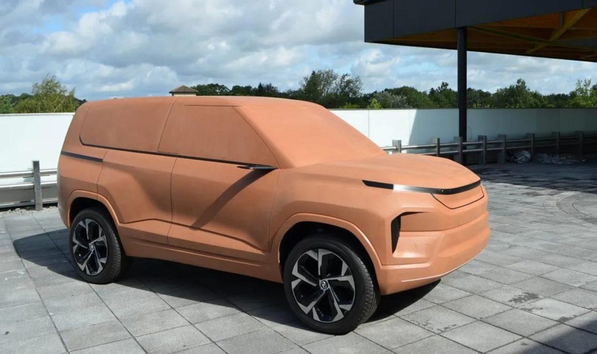 Tata Sierra clay model 2