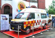 Tata Winger ambulance Pune