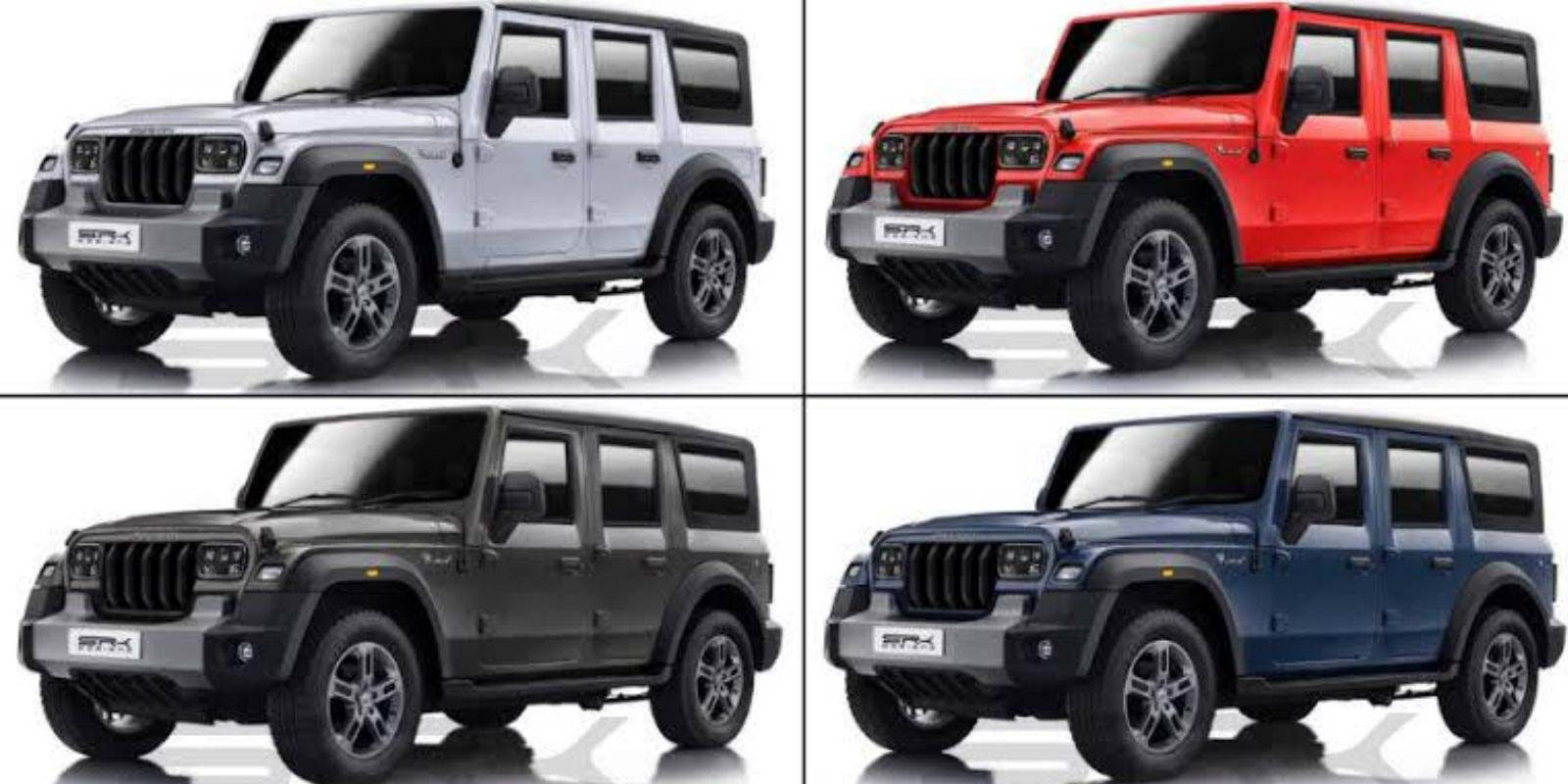 Five-Door Mahindra Thar In The Development; Launch Likely In 2021