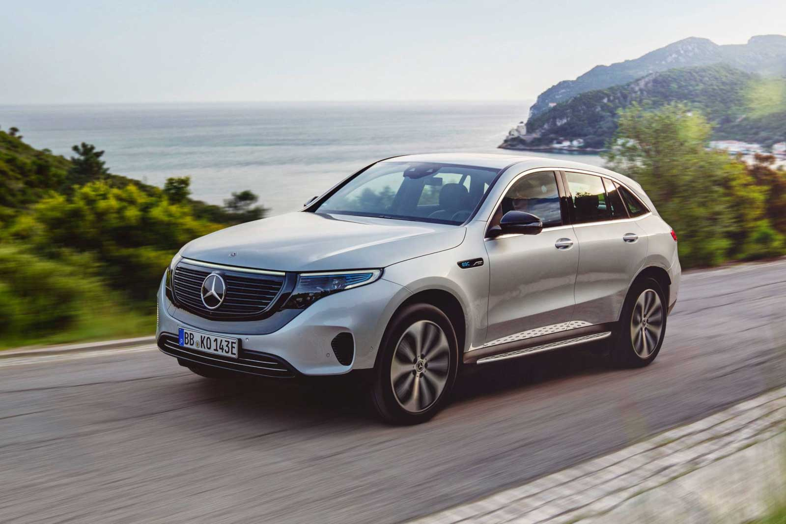 Mercedes-Benz EQC Electric SUV Launched In India At Rs. 99 ...