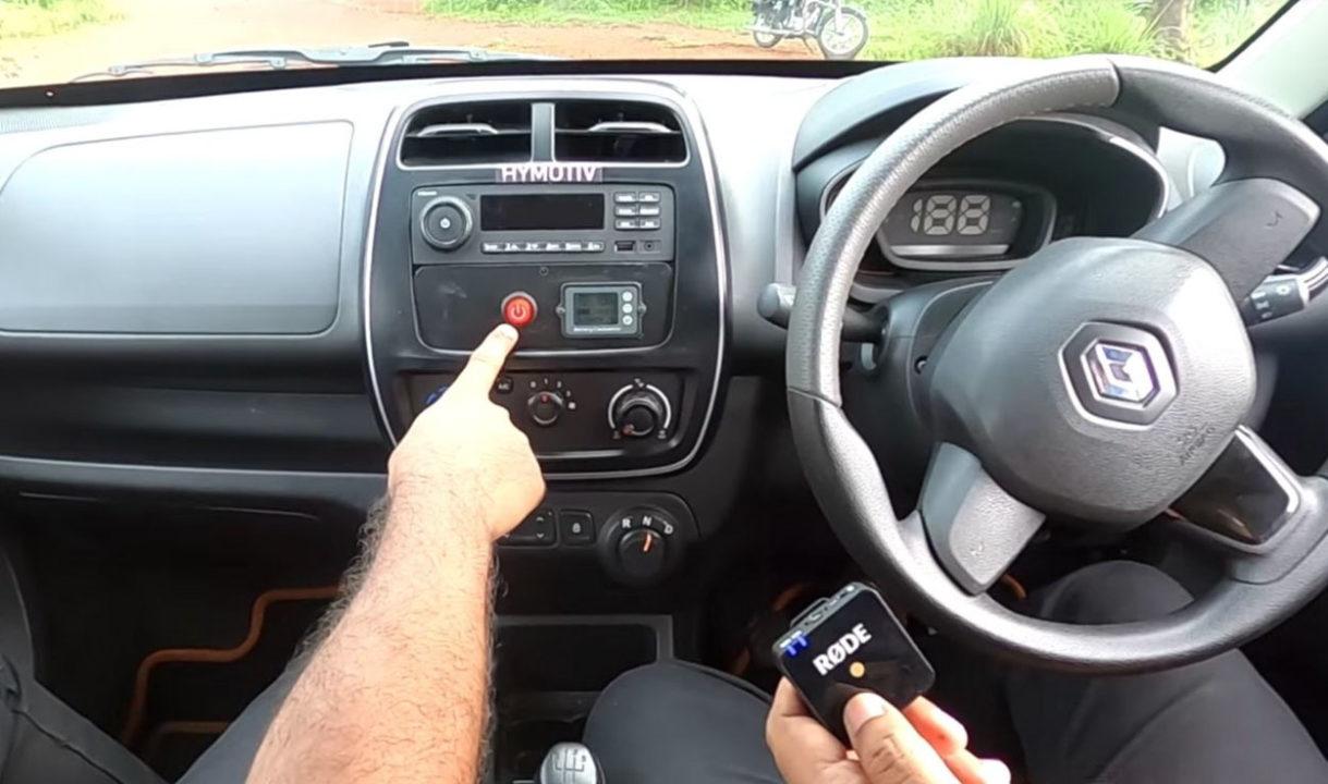 renault kwid hybrid interior