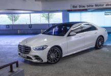2021 Mercedes-Benz S-Class automated valet parking 1