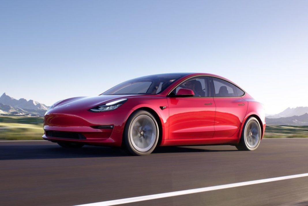 Fonctionnalité de la Tesla Model 3 2021