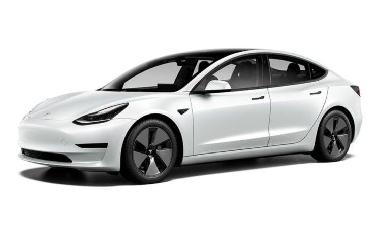 2021 Tesla Model 3 front three quarter