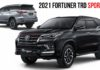 2021 Toyota Fortuner Facelift Gets TRD Sportivo-1