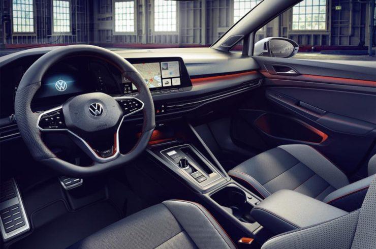 2021 Volkswagen Golf GTI Clubsport interior