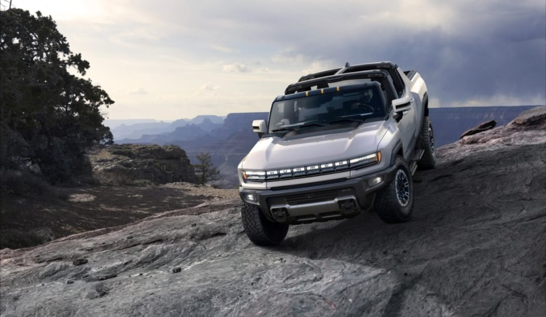 Tesla-fighting GMC HUMMER EV debuts