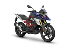 BMW G310 GS BS6 front three quarter view