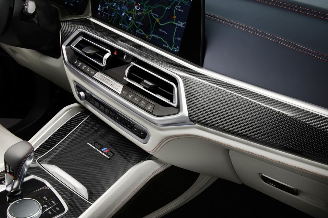 BMW X5 M and X6 M Competition First Edition dashboard