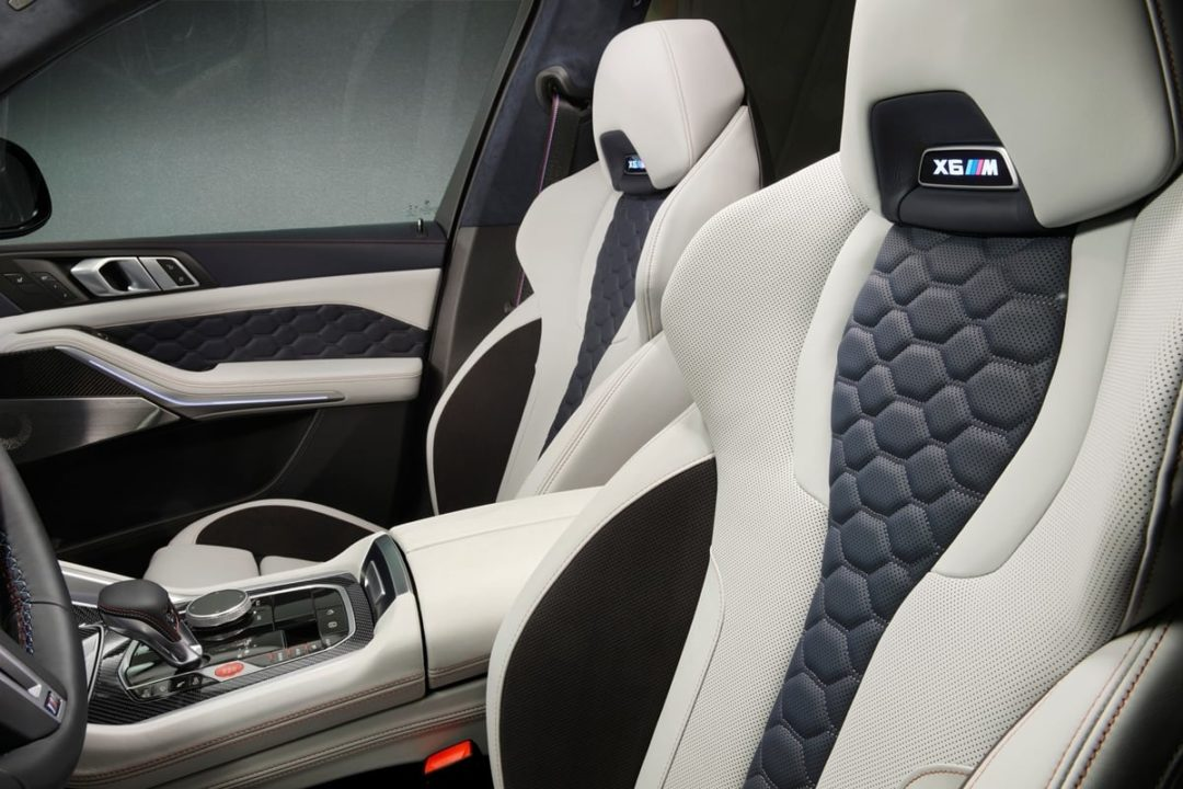 BMW X5 M and X6 M Competition First Edition interior