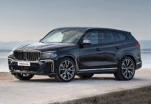 BMW X8 rendering front angle