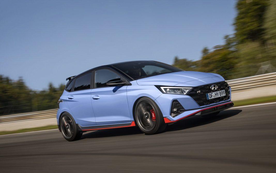 Hyundai i20 N front angle