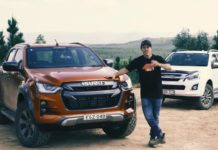 Isuzu D-Max New vs Old off-road test feature