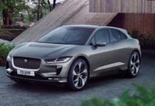 Jaguar I-Pace front three quarter