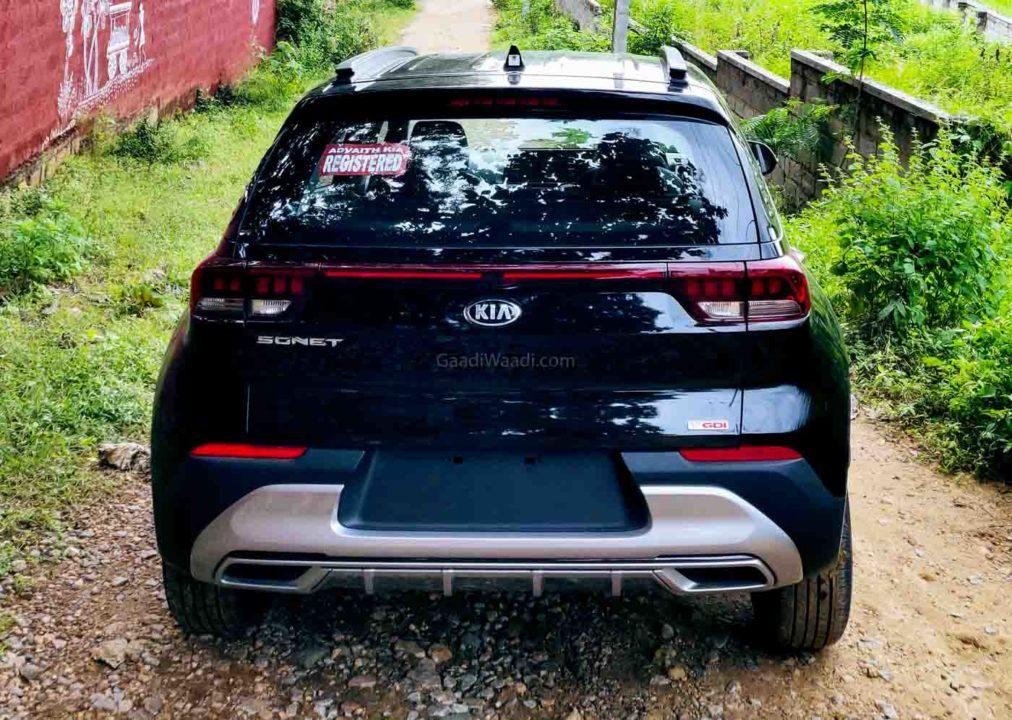 Kia Sonet With Black 16-Inch GTR Pro Aftermarket Wheels-1