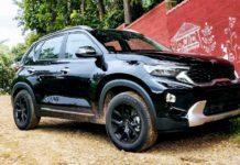 Kia Sonet With Black 16-Inch GTR Pro Aftermarket Wheels-2
