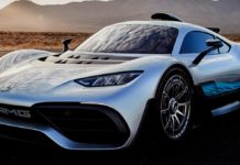 Mercedes-Benz Project One front angle