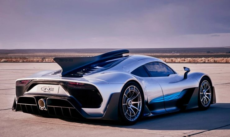 Mercedes-Benz Project One rear angle