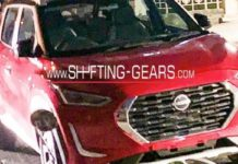 Nissan Magnite compact suv spied 1