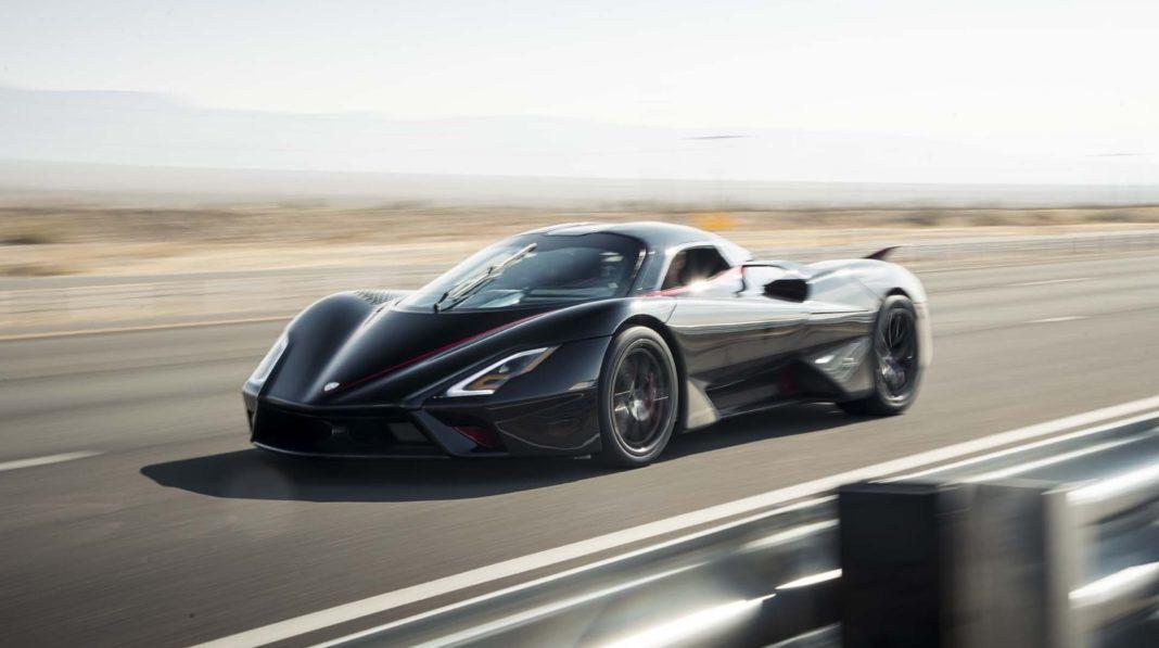 SSC Tuatara worlds fastest production car 2020