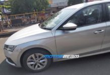 Skoda Octavia spied without camouflage