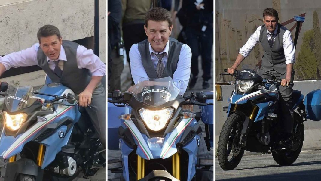 Tom Cruise Spotted Riding BMW G310 GS For Mission Impossible 7-1