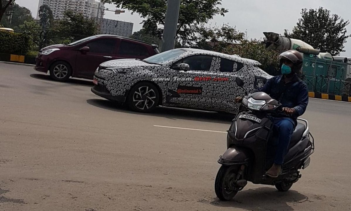 Toyota CH-R spied India 1