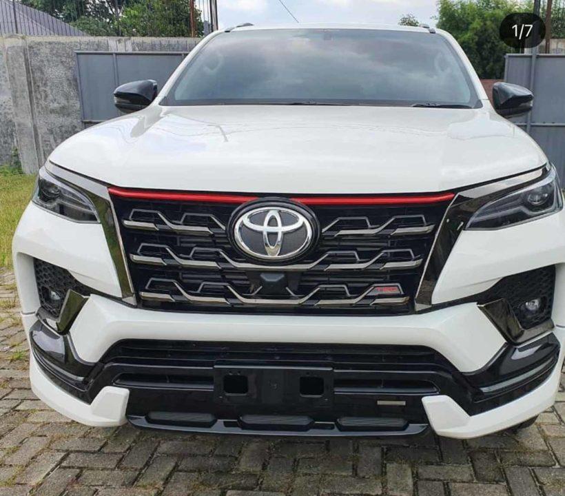 Toyota Fortuner Facelift TRD_