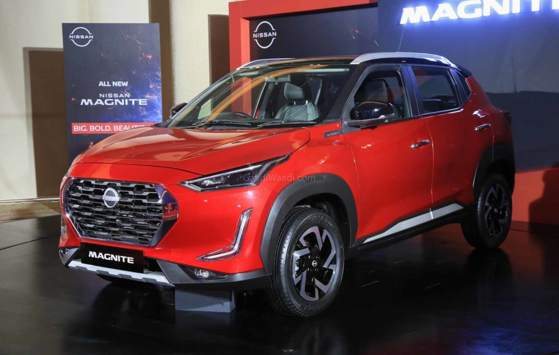 Nissan Magnite colour options revealed ahead of launch