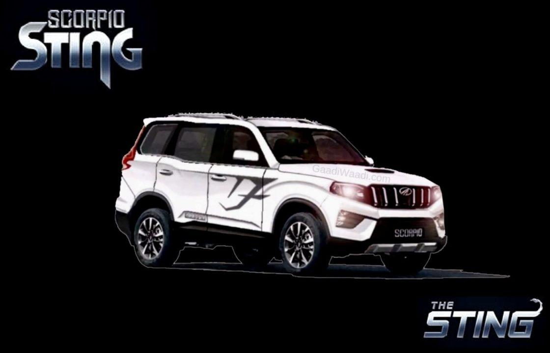 2021 Mahindra Scorpio Sting Low-Spec Variant Spied Revealing Details