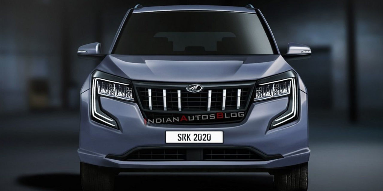 2021 Mahindra XUV500 Rendered 1