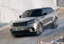 2021 Range Rover Velar off road