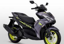 2021 Yamaha Aerox 155 front angle