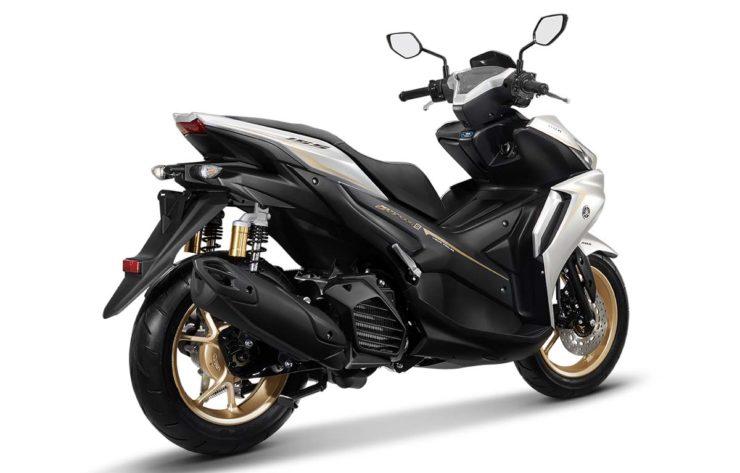 2021 Yamaha Aerox 155 rear angle