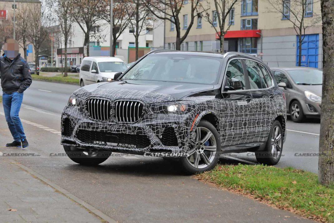 2022 BMW X5 Facelift