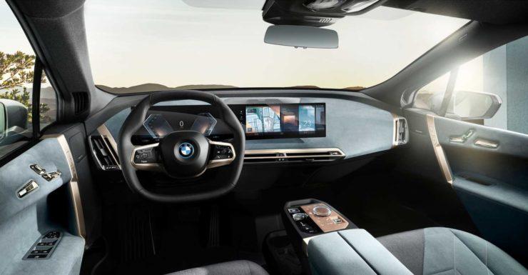 BMW iX dashboard