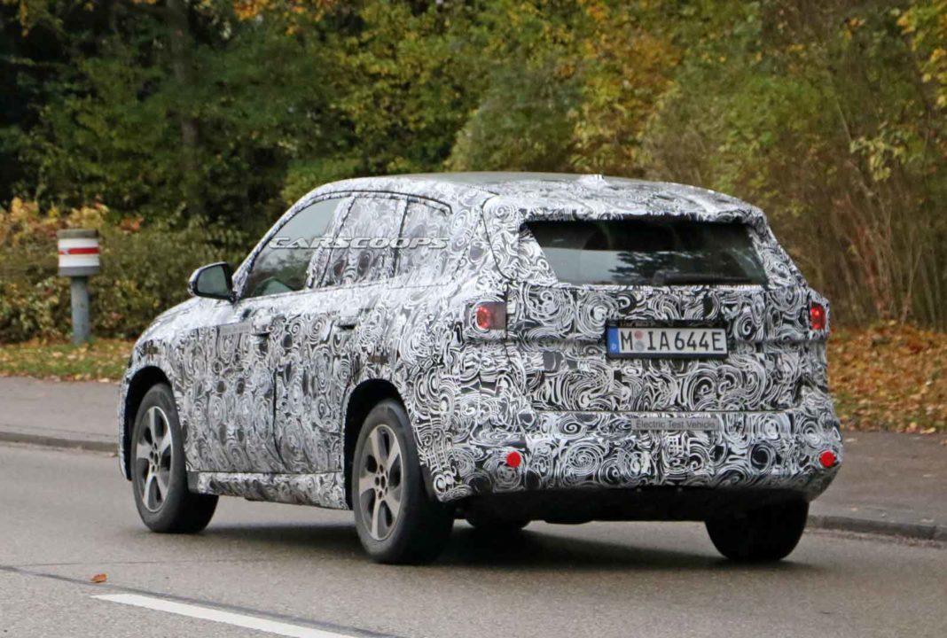 BMW iX1 Spied