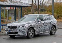 BMW iX1 Spied Front