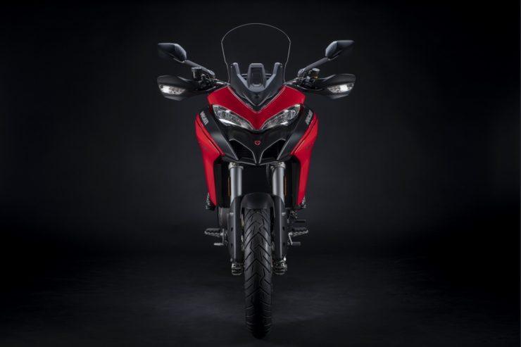 Ducati Multistrada 950 S red colour
