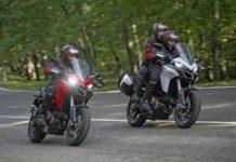 Ducati Multistrada 950 S white and red colour