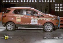 Ford EcoSport Euro NCAP crash test rating