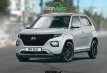 Hyundai AX1 front three quarter production version rendering