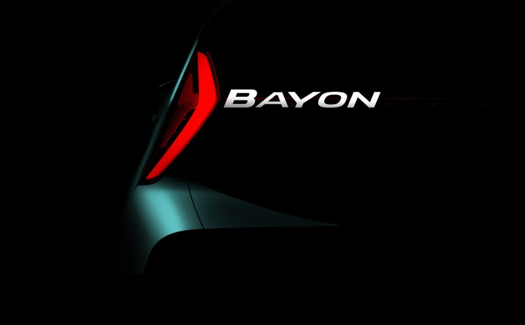 New Hyundai entry-level SUV named Bayon