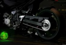 Kawasaki hybrid motorcycle teaser