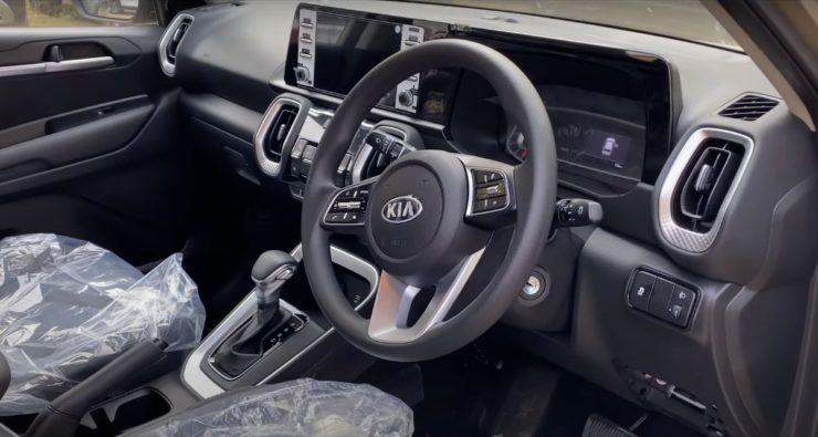 Kia Sonet HTK Plus interior
