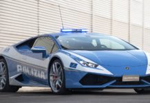 Lamborghini Gallardo Italian Police