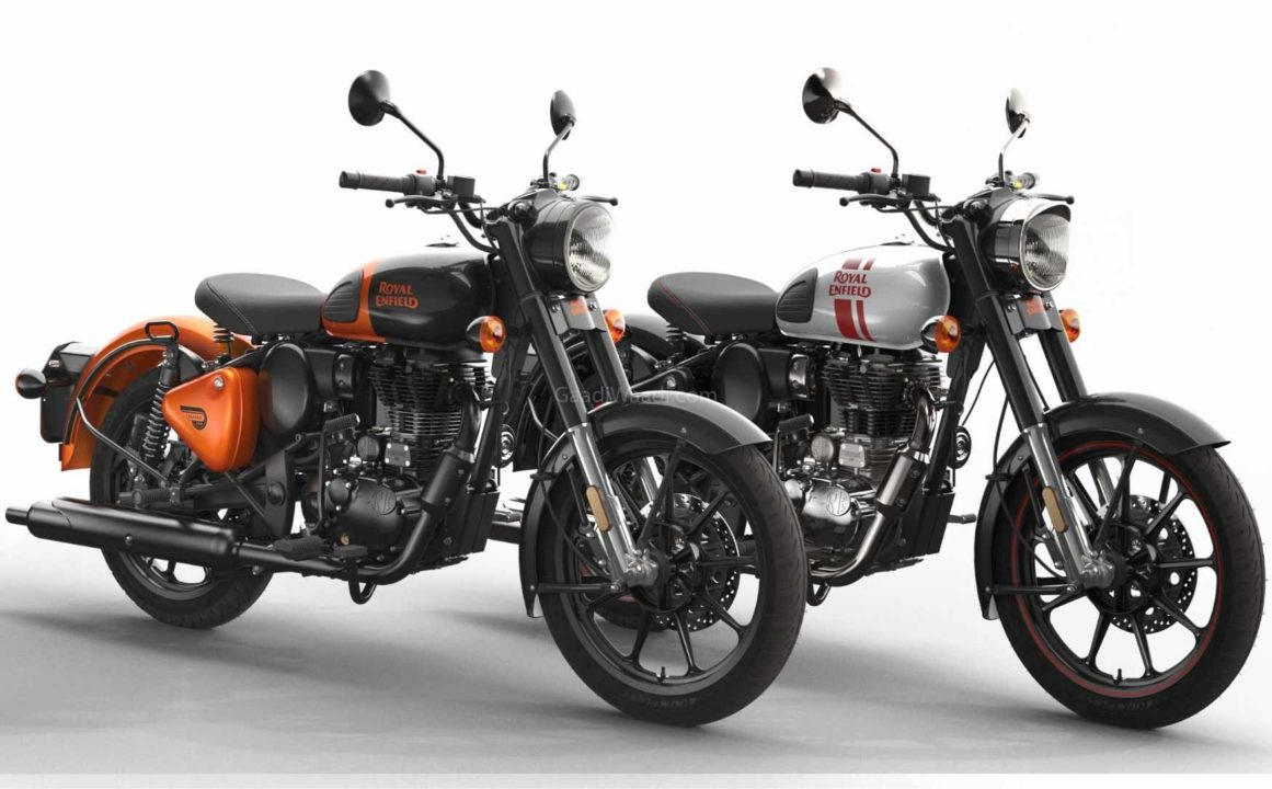 Orange Ember Royal Enfield Classic 350-1-7