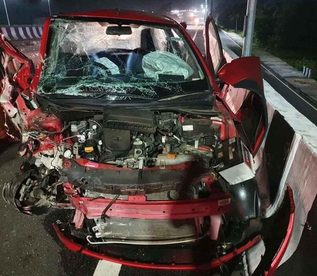 Tata Tiago Accident