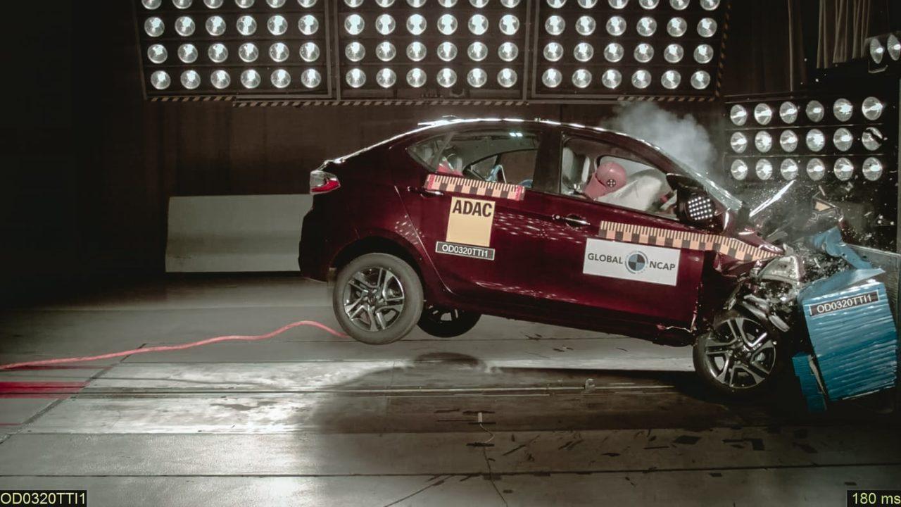 Tata Tigor Tiago NCAP crash test
